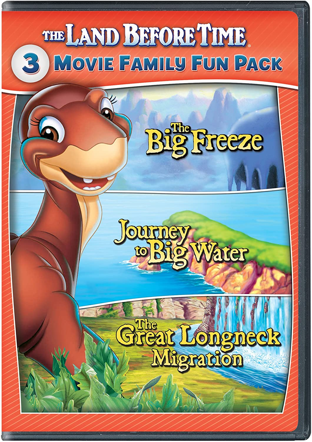 amazon com the land before time viii x 3 movie family fun pack