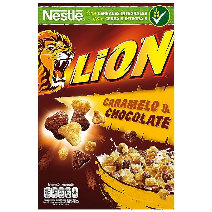 Lion - Cereales con Crema de Caramelo y Chocolate - 675 g: Amazon.es: Alimentación y bebidas