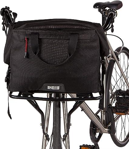 Handlebar bag wheel bicycle bag bike