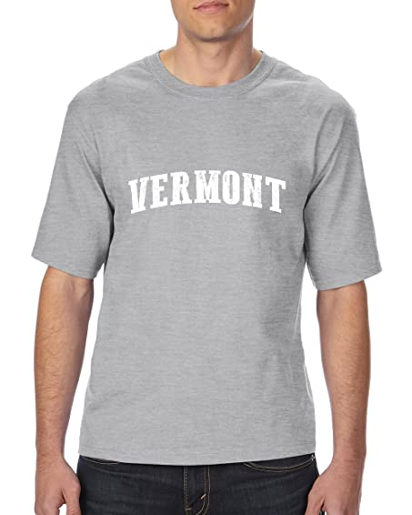 Ugo VT Vermont Flag Burlington Map Catamounts Home of University of Vermont Ultra Cotton Unisex T