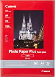 Canon SG-201 Photo Paper PLUS SEMI-Gloss , satin  (260 g/qm), A4, 20 sheets