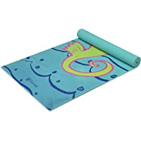 (Seahorse) - Gaiam Kids Yoga Mat Exercise Mat, Yoga for Kids with Fun Prints - Playtime for Babies, Active & Calm…