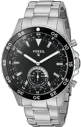 FOSSIL Q Crewmaster – Montre connectée hybride homme - Smartwatch sport en acier inoxydable - Compatibilité