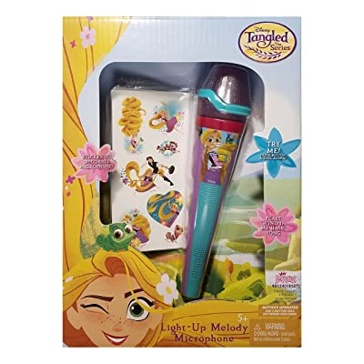 Imperial Tangled Disney Light-up Melody Microphone: Toys & Games