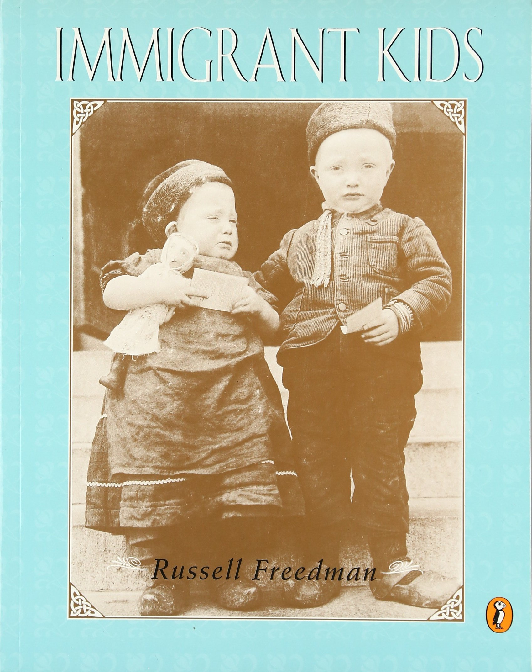 immigrant kids paperback 1995c puffin russell freedman
