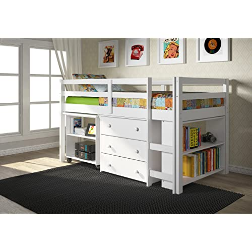 Low Bunk Beds Amazon Com