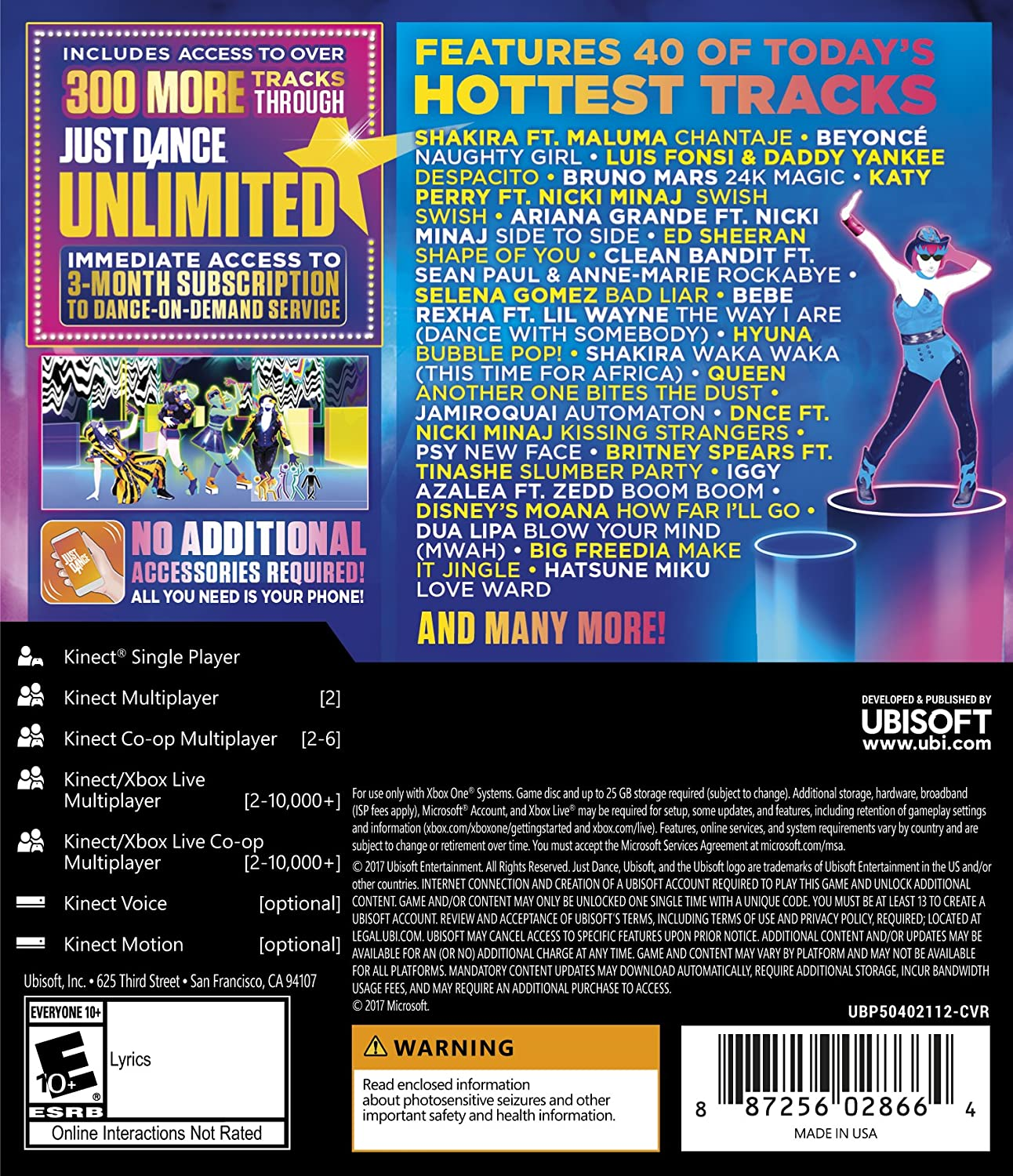 Amazon.com: Just Dance 2018 - Xbox One: Ubisoft: Video Games