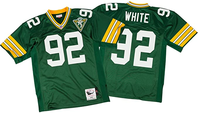 the latest 5e900 7aefc Amazon.com: Mitchell & Ness Reggie White Green Bay Packers ...