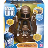Doctor Who Dalek Patrol Ship and Figure