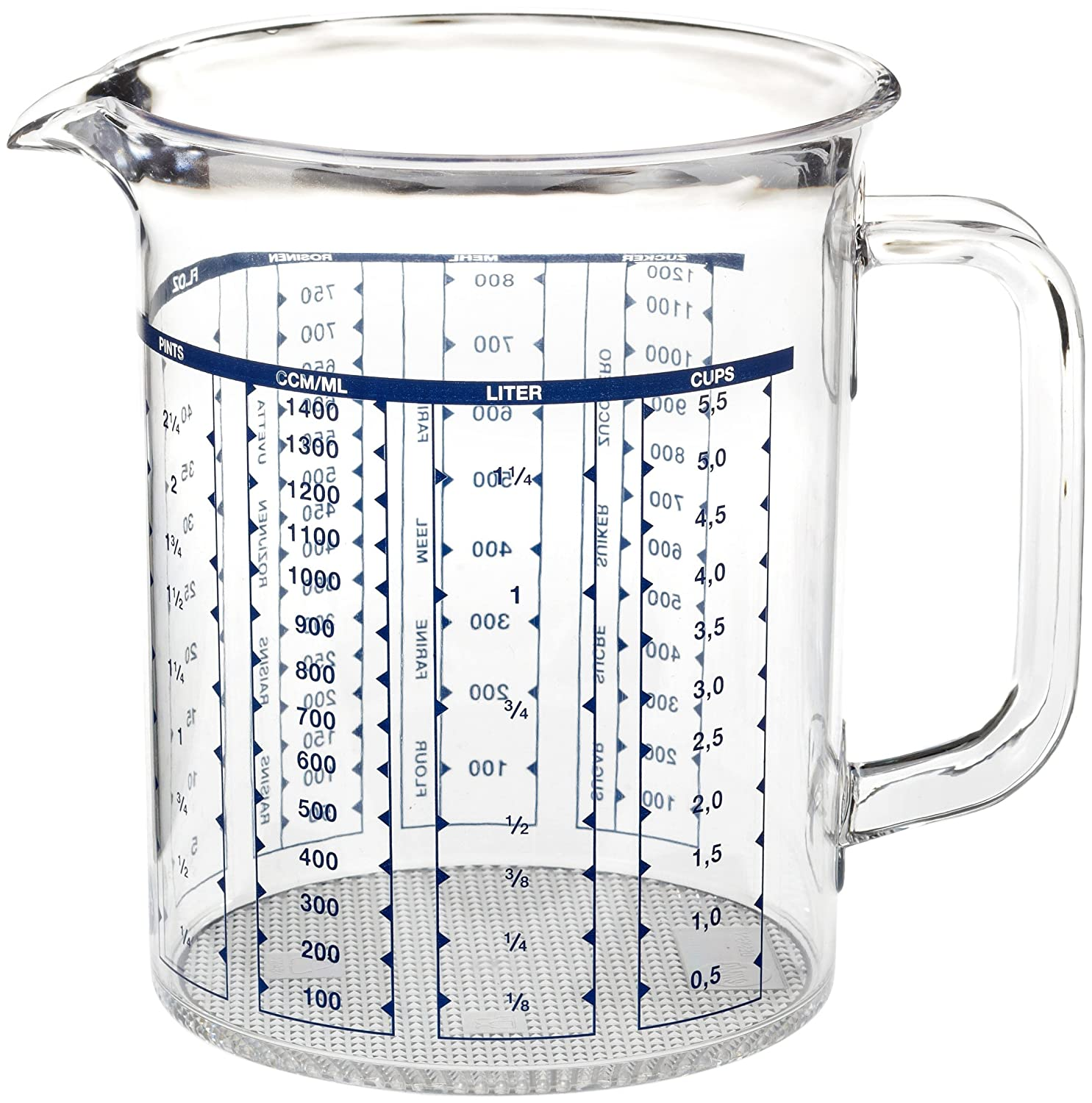 Emsa SUPERLINE Measuring Jug 1.5 L Transparent 2217150000