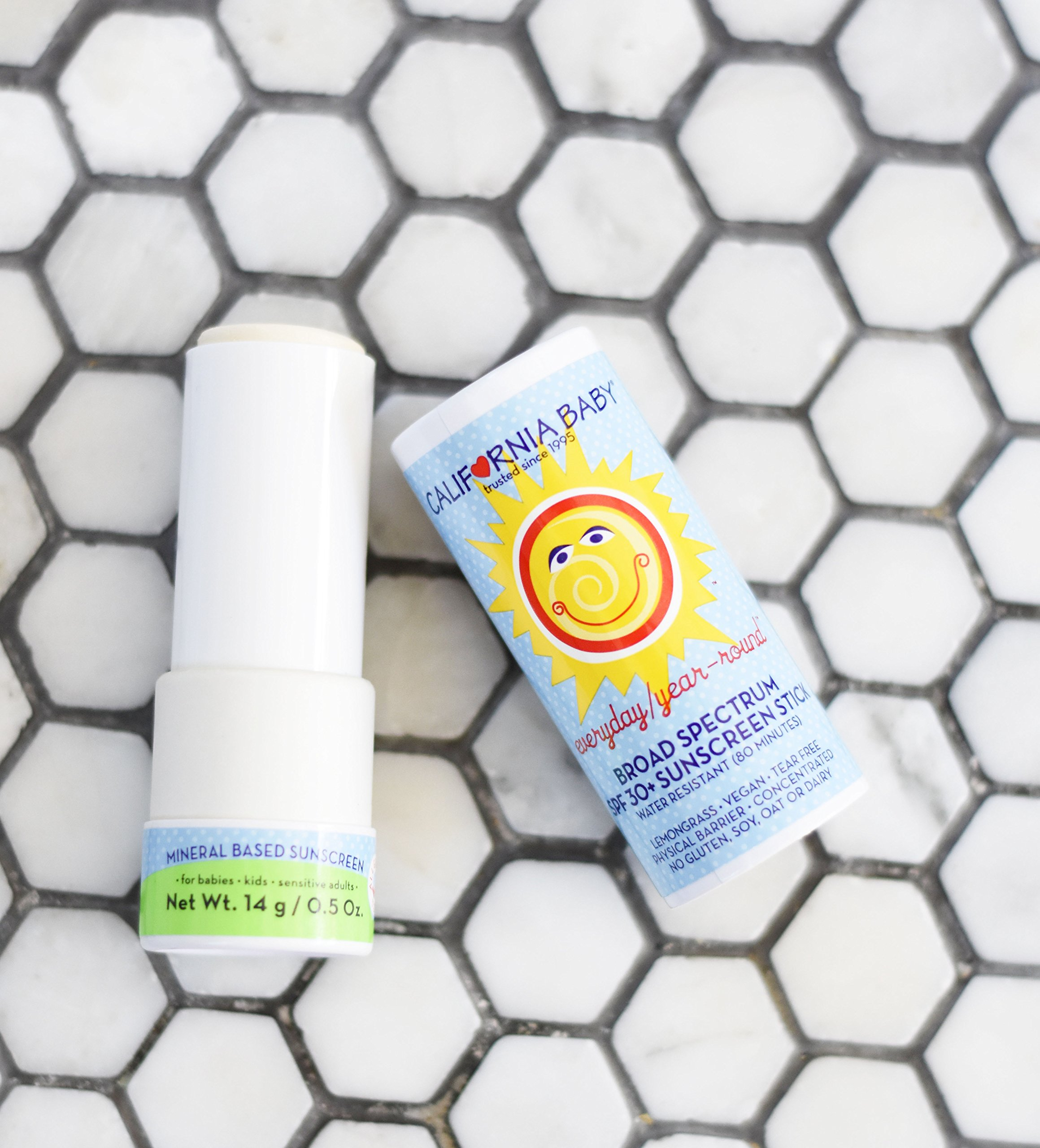 California Baby Everyday Year-Round SPF 30+ Sunscreen Stick - 0.5 oz. - 2 Pack by California Baby (Image #3)