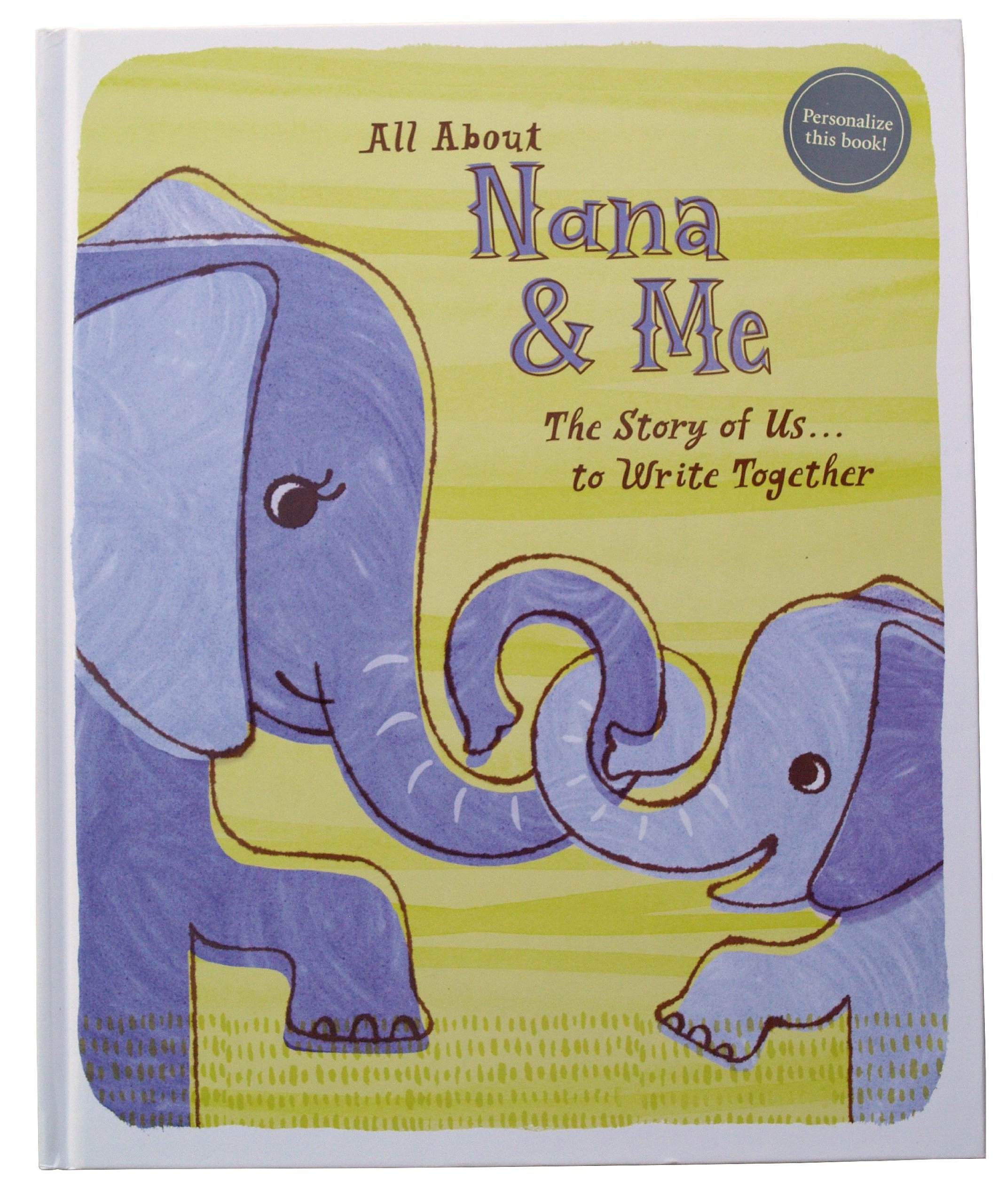"""All About Nana & Me """"The Story of Us . . . To Write Together PDF"""