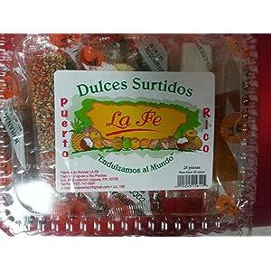 Assortment Sweets of Puerto Rico (Surtido De Dulces Tipicos De Puerto Rico) 24 Pieces