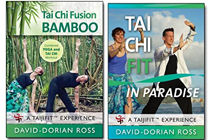 Amazon Com Bundle Tai Chi 2 Dvd Set With David Dorian Ross Bamboo