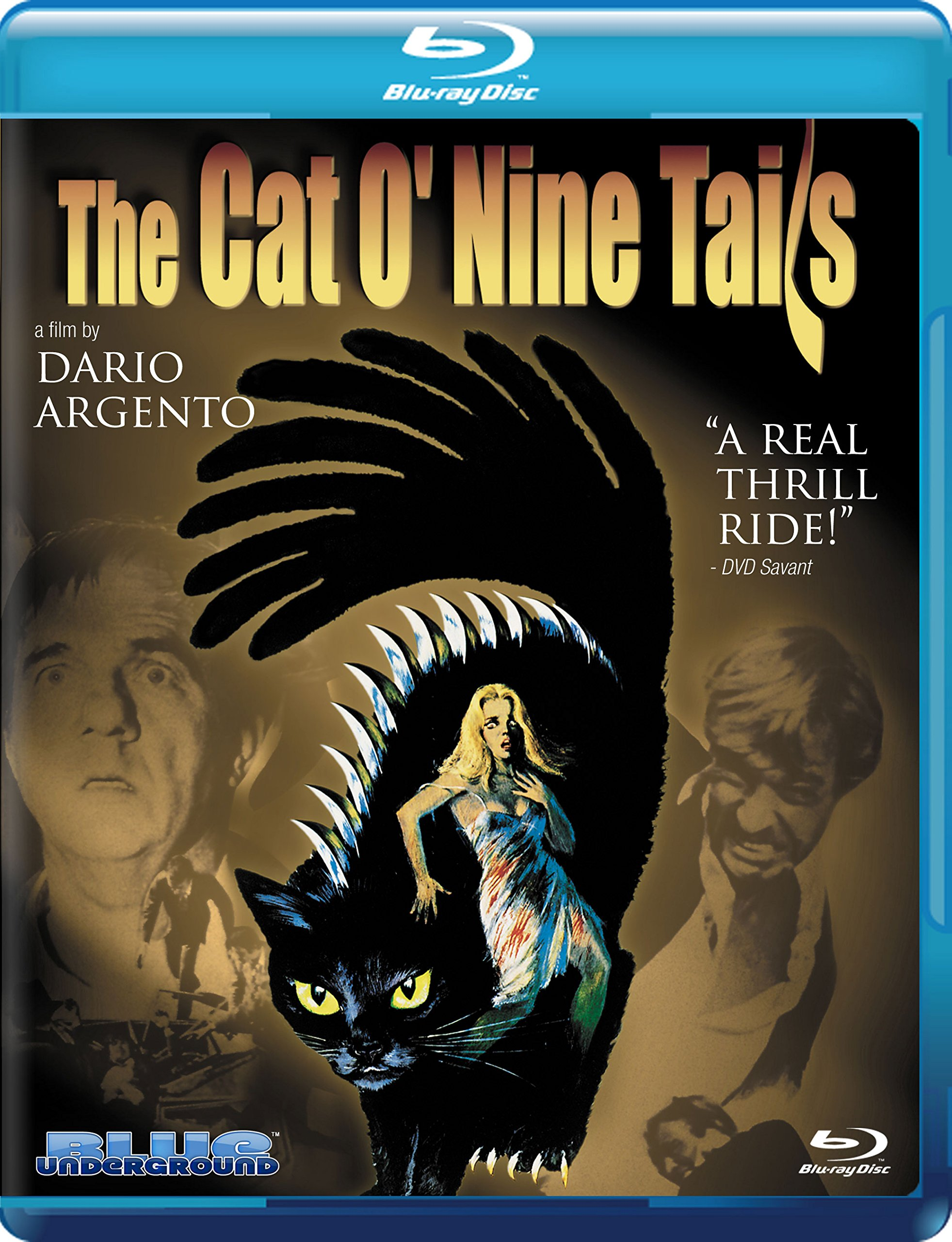 The Cat O' Nine Tails [Blu-ray]