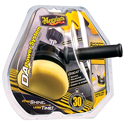 Meguiar's G3500 Dual Action Power System Tool – Boost Your Car Care Arsenal with This Detailing Tool: Automotive