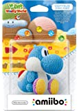 Amiibo Yoshi Di Lana Azzurro - Yoshi'S Woolly World Collection