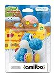Light Blue Yarn Yoshi amiibo (Nintendo Wii U/3DS)