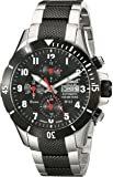 Ingersoll Men's IN1408BKMB Bison No. 63 Analog Display Automatic Self Wind Silver Watch