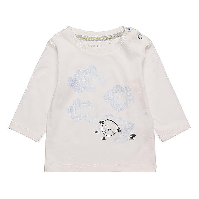 Esprit Kids RK10010, Camiseta Unisex bebé, Blanco (Off White 110), 6 Mes: Amazon.es: Ropa y accesorios