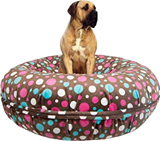 product image for BESSIE AND BARNIE Signature Cake Pop Luxury Extra Plush Faux Fur Bagel Pet/Dog Bed (Multiple Sizes)