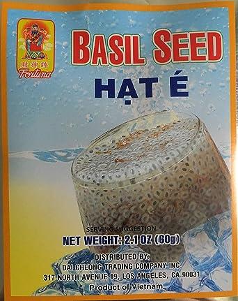 Semillas de albahaca, gran complemento para bebidas de té ...