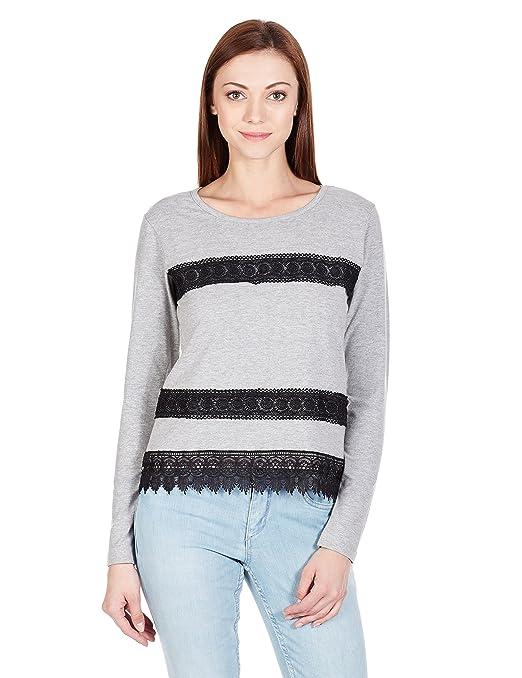The Closet Label Women's Plain T-Shirt Women's T-Shirts at amazon