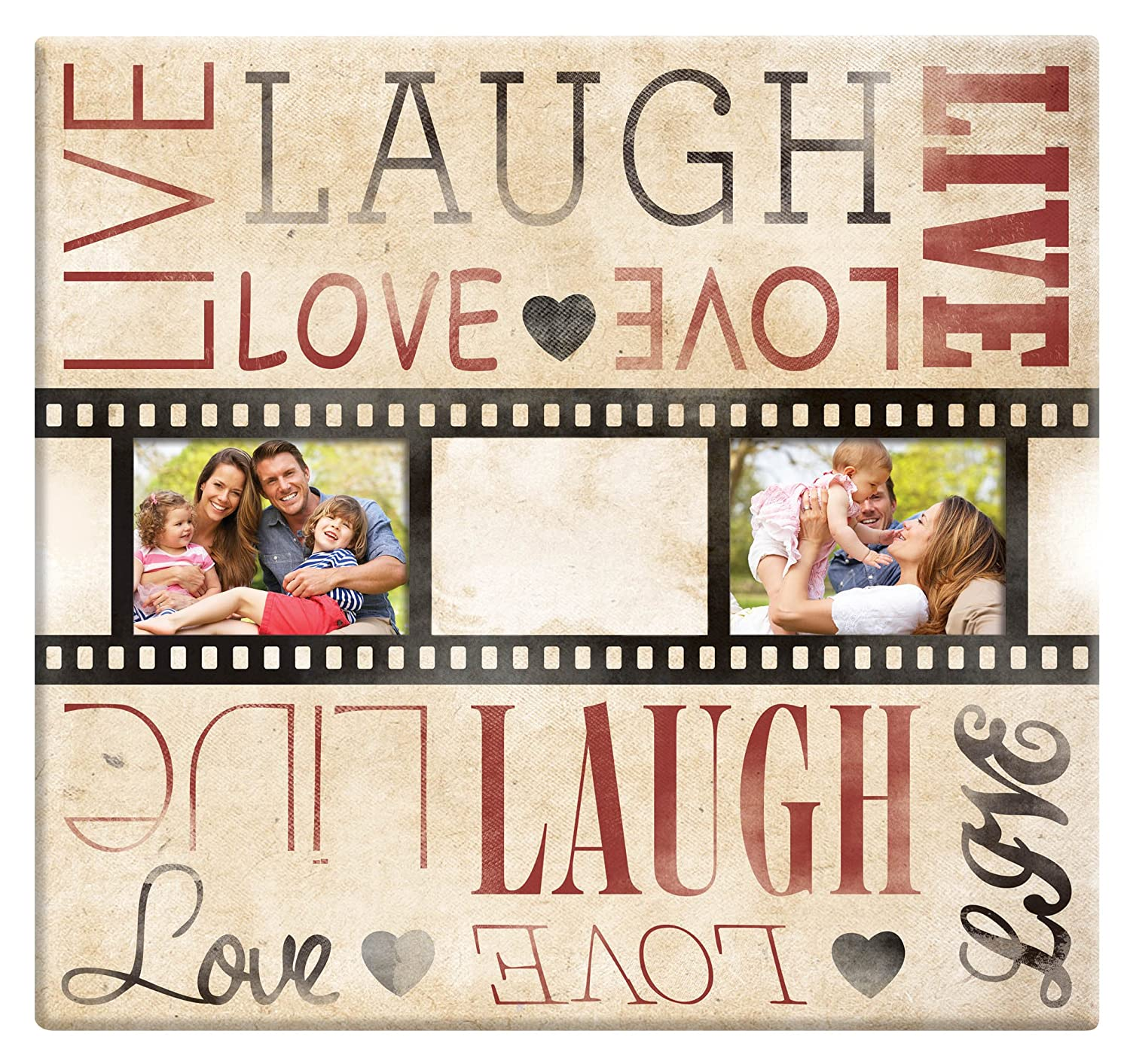 Filmstrip Scrapbook Album with Top Load Pages