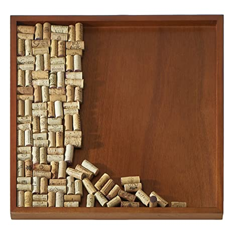 Amazoncom Wine Enthusiast Diy Wine Cork Board Frame Kit Bulletin