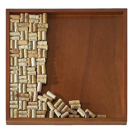 wine enthusiast diy wine cork board frame kit - Wine Cork Picture Frame