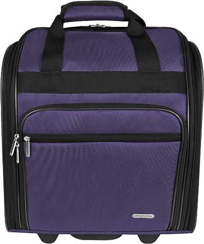 Travelon Wheeled Underseat 15 Inch, Purple, One Size