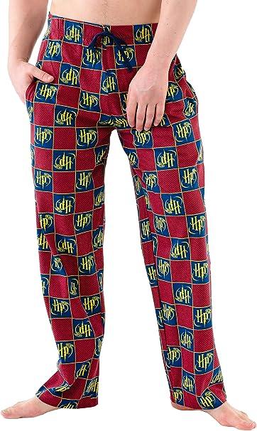 HARRY POTTER Pantalones de Pijama para Hombre Large: Amazon.es: Ropa y accesorios
