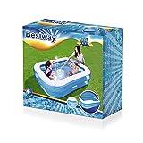 H2OGO! Blue Rectangular Inflatable Family Pool