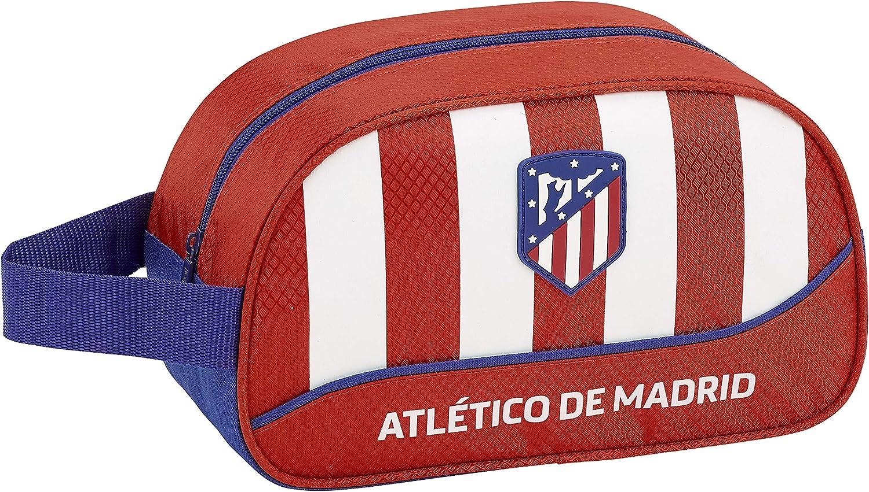Atlético de Madrid Neceser, Bolsa de Aseo Adaptable a Carro: Amazon.es: Ropa y accesorios