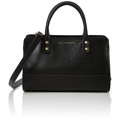 ceec2fe0d2931 Lulu Guinness Women s Daphne Cross-Body Bag Black (Black)  Amazon.co.uk   Shoes   Bags