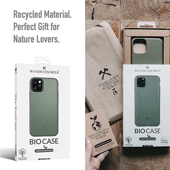 Woodcessories - Funda Bio Compatible con iPhone 11: Amazon.es ...