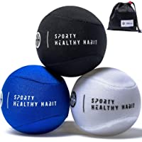 Hand Therapy Stress Ball 3 Pk for Adults and Kids - Relieve Stress/Strengthen Hands Fingers + Wrists - 3 Firmness Levels…