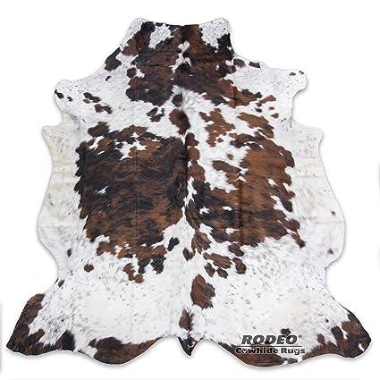 3d028c08dfa Amazon.com  RODEO Tricolor Cowhide Rug Large Size 5x7(150cm X210cm ...