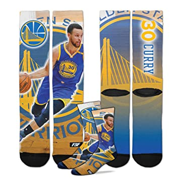2836aa0e0cca Golden State Warriors Youth Size Center Court NBA Crew Kids Socks (4-8 YRS)  1 Pair - Stephen Curry  30