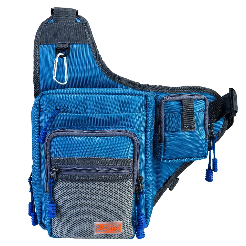 Piscifun fishing tackle bag fishing backpack soft sports for Fishing backpack tackle bag