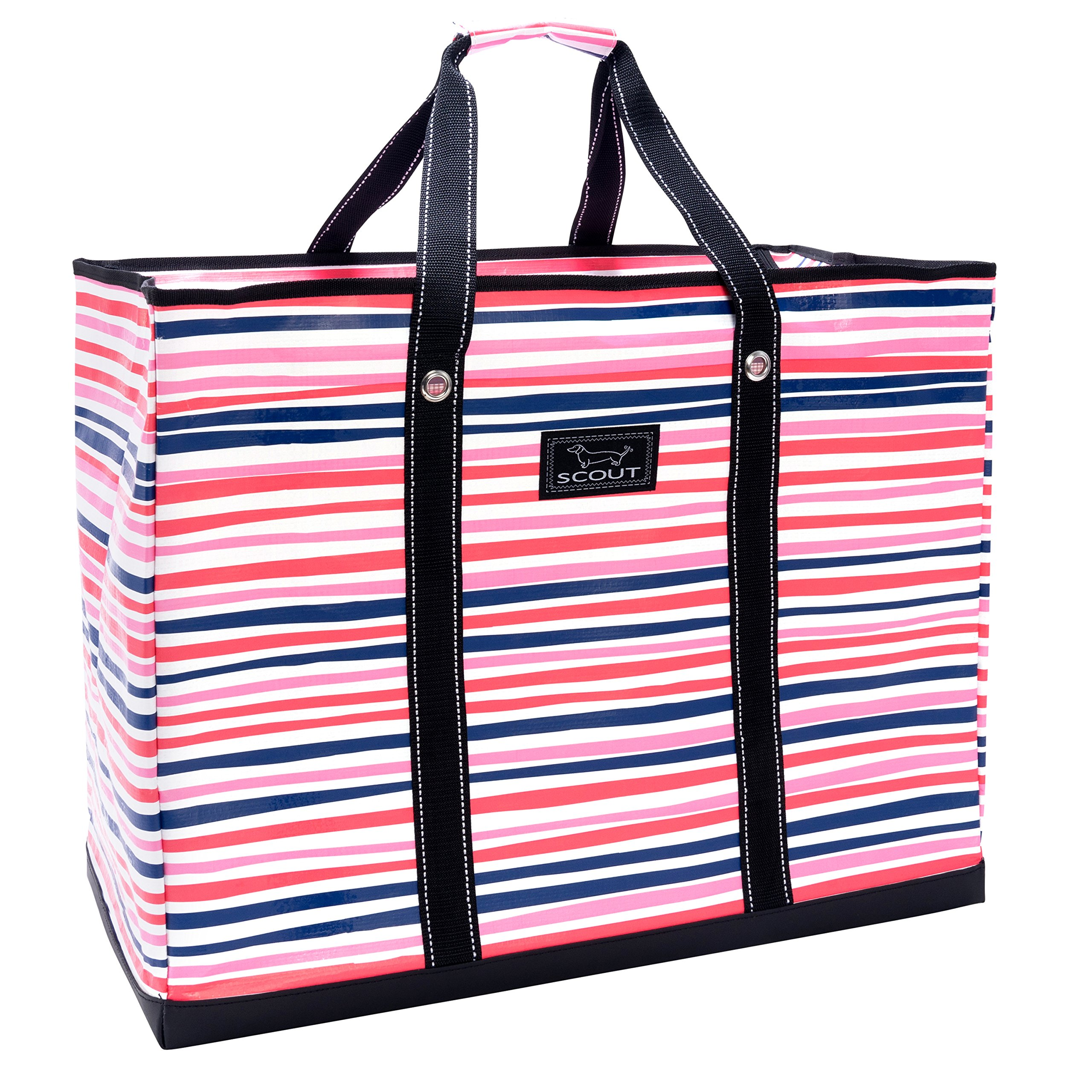 SCOUT 4 Boys Bag, Extra Large, Durable All Purpose Foldable Utility Tote, Folds Flat, Water Resistant, Zips Closed, Pinky Swear