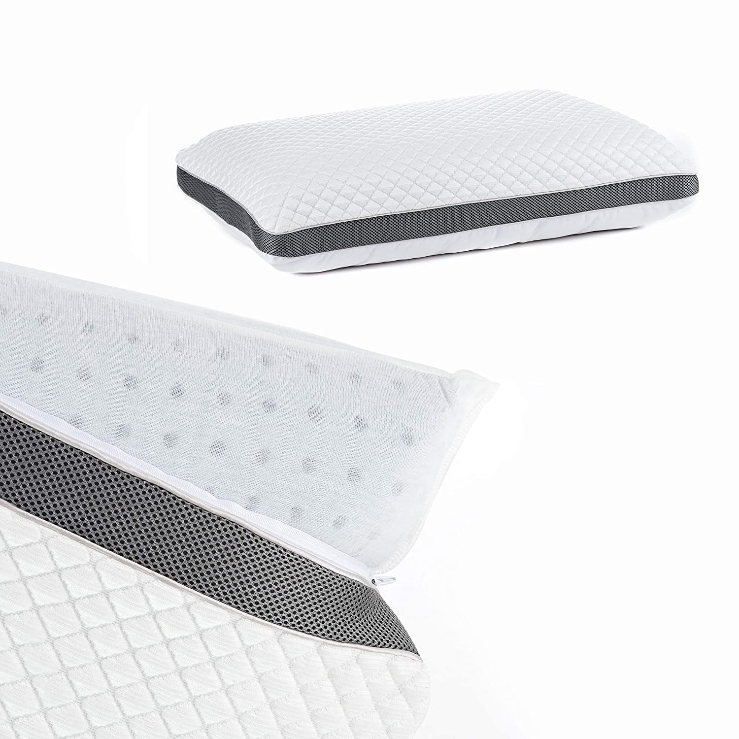 Perfect Cloud Cooling Pillow for Sleeping Diamond Rest Gel is The Best Rated Cool Pillow for Hot Sleepers