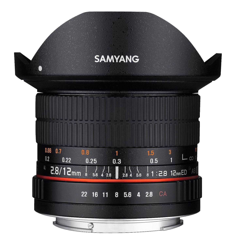 Samyang F Objetivo fotográfico DSLR para Canon EF distancia focal fija mm
