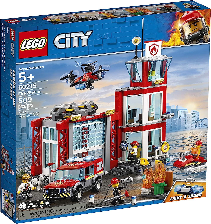 LEGO City Fire Station 60215 FAST SHIP !!!