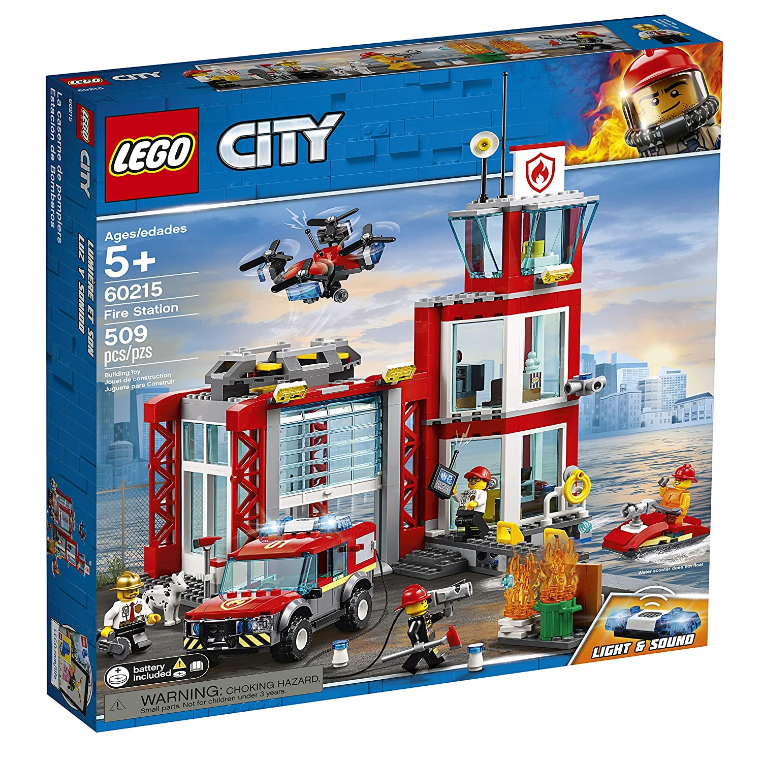 Top 9 Best LEGO Fire Station Sets Reviews in 2020 1