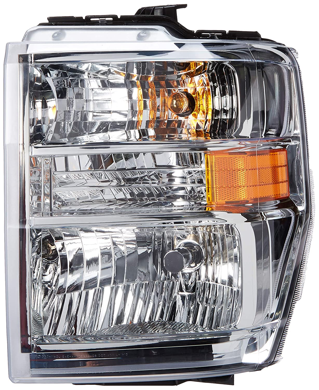 Partslink FO2502249 OE Replacement Headlight Combination Assembly FORD VAN FORD ECONOLINE 2008-2014