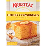 Krusteaz Honey Cornbread and Muffin Mix - No Artificial Colors, Flavors or Preservatives - 15 OZ (Pack of 12)