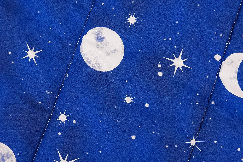 Edred/ón con Estampado de Estrellas y Cosmo 80 x 60 cm HomeLife Edred/ón para Perros de tama/ño peque/ño de Microfibra Alfombra c/álida Acolchada hipoalerg/énica Ideal como sof/á//Manta para caseta