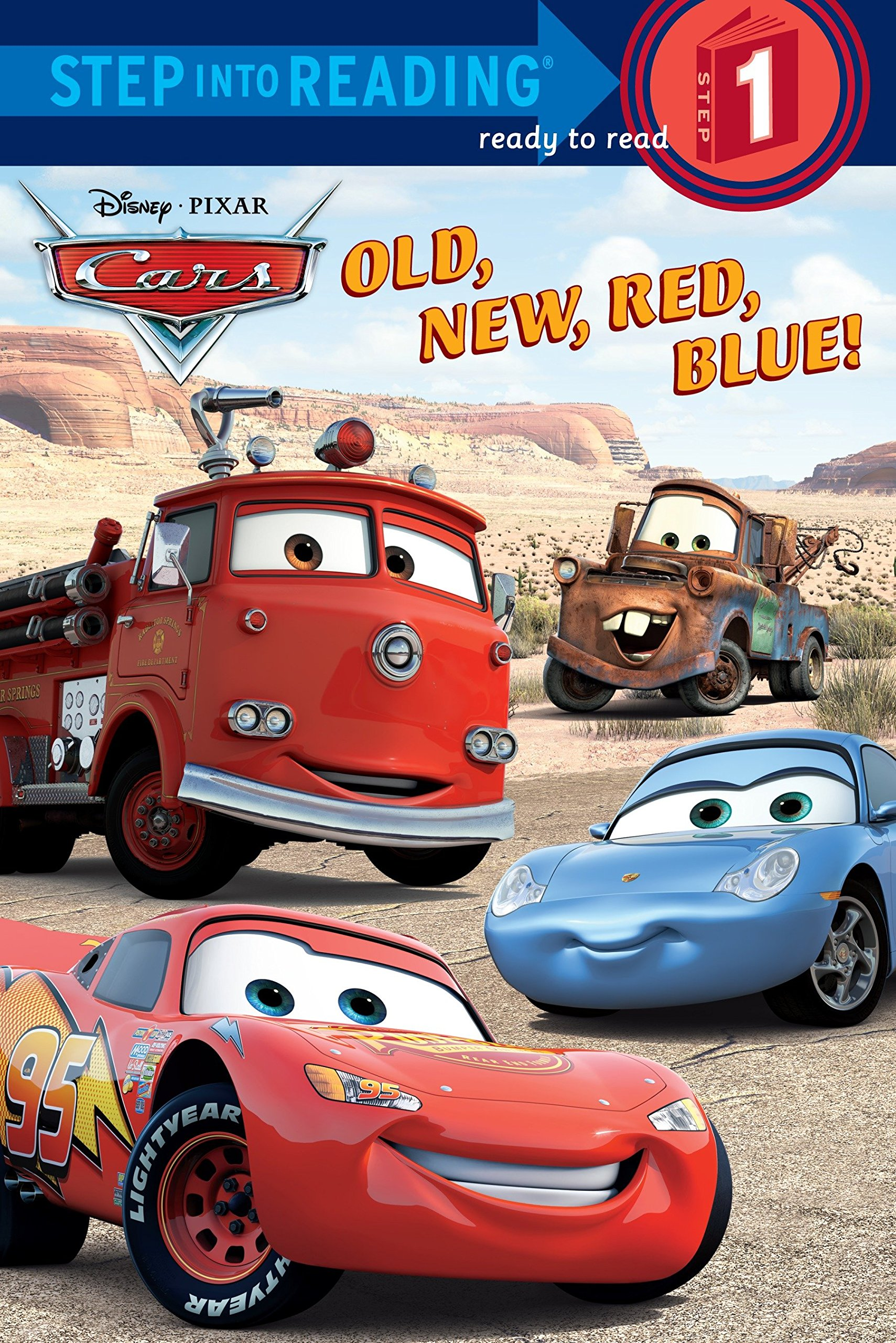 Download Old, New, Red, Blue! (Step into Reading) (Cars movie tie in) pdf