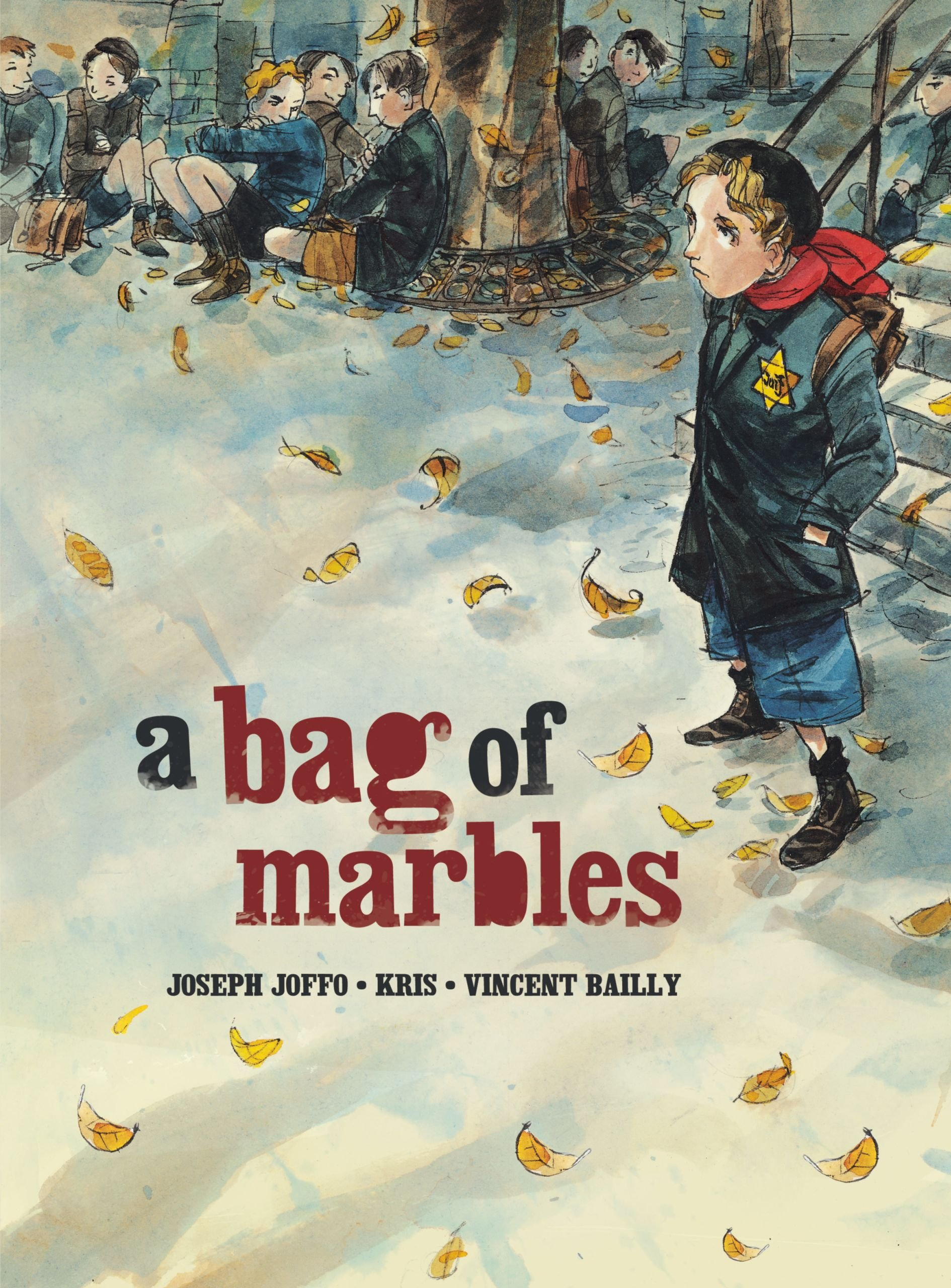 A Bag of Marbles: The Graphic Novel (Graphic Universe) (Junior Library Guild Selection)